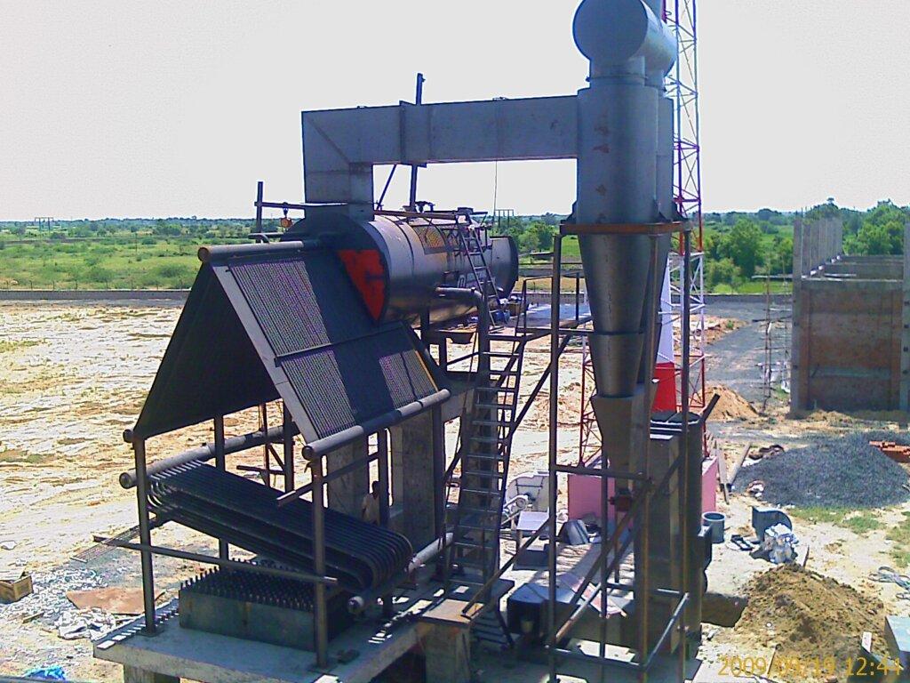Boiler Erection Layout